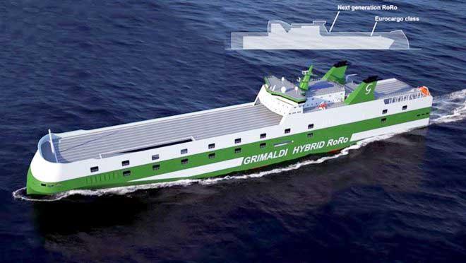 Μία νέα γενιά RO-RO ναυπηγείται για τον ιταλικό όμιλο Grimaldi