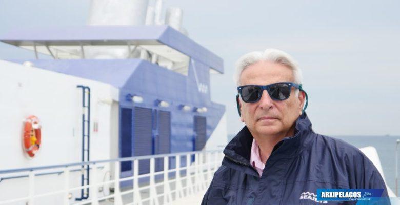 Photo of ΝΙΚΟΣ ΚΑΒΑΛΛΙΕΡΟΣ – Συνέντευξη για το μεγαλύτερο στόλο ταχυπλόων και την Ακτοπλοΐα