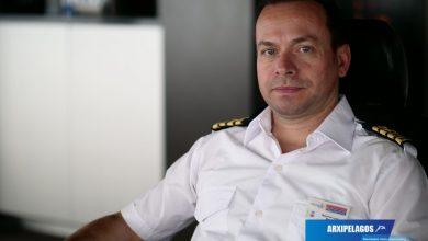 Photo of Cpt Μακάριος Λύρας, Πλοίαρχος του «Blue Star Patmos»  (Συνέντευξη)