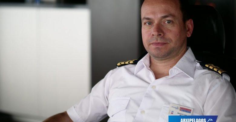 Cpt Μακάριος Λύρας Πλοίαρχος του «Blue Star Patmos» Συνέντευξη, Αρχιπέλαγος, Ναυτιλιακή πύλη ενημέρωσης