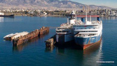Photo of Κλίση από εισροή υδάτων στο πλοίο «Μυτιλήνη»