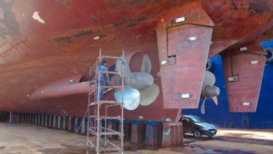 Photo of Το μεγαλύτερο πλοίο που ανέβηκε στη δεξαμενή του Σπανόπουλου