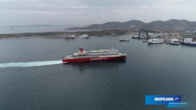 Photo of SUPERFAST VI: Arrival at Ancona port