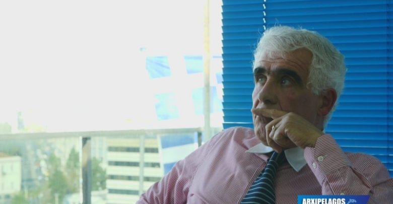 Παούρης Αρχιμηχανικός Ε.Ν. Συνέντευξη Αν ξαναγεννιόμουν πάλι τη θάλασσα θ ακολουθούσα, Αρχιπέλαγος, Ναυτιλιακή πύλη ενημέρωσης