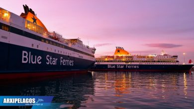 Photo of Διαμόρφωση δρομολογίων Blue Star Ferries μετά την άρση του απαγορευτικού