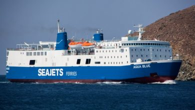 Photo of «Aqua Blue» Κατάπλους στο λιμάνι της  Ανδρου