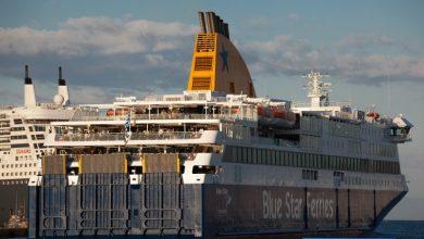 Photo of BLUE STAR DELOS – Αναχώρηση από το λιμάνι του Πειραιά