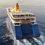 Blue Star Paros Αναχώρηση από τo λιμάνι του Πειραιά drone video 4K 5, Αρχιπέλαγος, Ναυτιλιακή πύλη ενημέρωσης