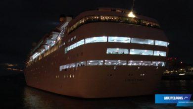 Photo of Costa NeoClassica – Νυχτερινή αναχωρηση από το λιμάνι του Πειραιά