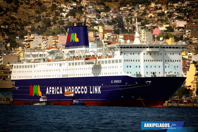EL.VENIZELOS RO RO PASSENGER SHIP IMO 7907673 25, Αρχιπέλαγος, Ναυτιλιακή πύλη ενημέρωσης