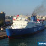 EUROPEAN EXPRESS RO RO PASSENGER SHIP 10, Αρχιπέλαγος, Ναυτιλιακή πύλη ενημέρωσης