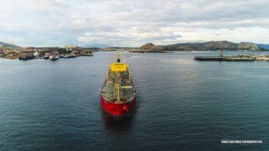 "Photo of ""HAFNIA HOPE"": Chemical/Oil Products Tanker ΕΝΤΥΠΩΣΙΑΚΟ ΒΙΝΤΕΟ ΑΠΟ DRONE"