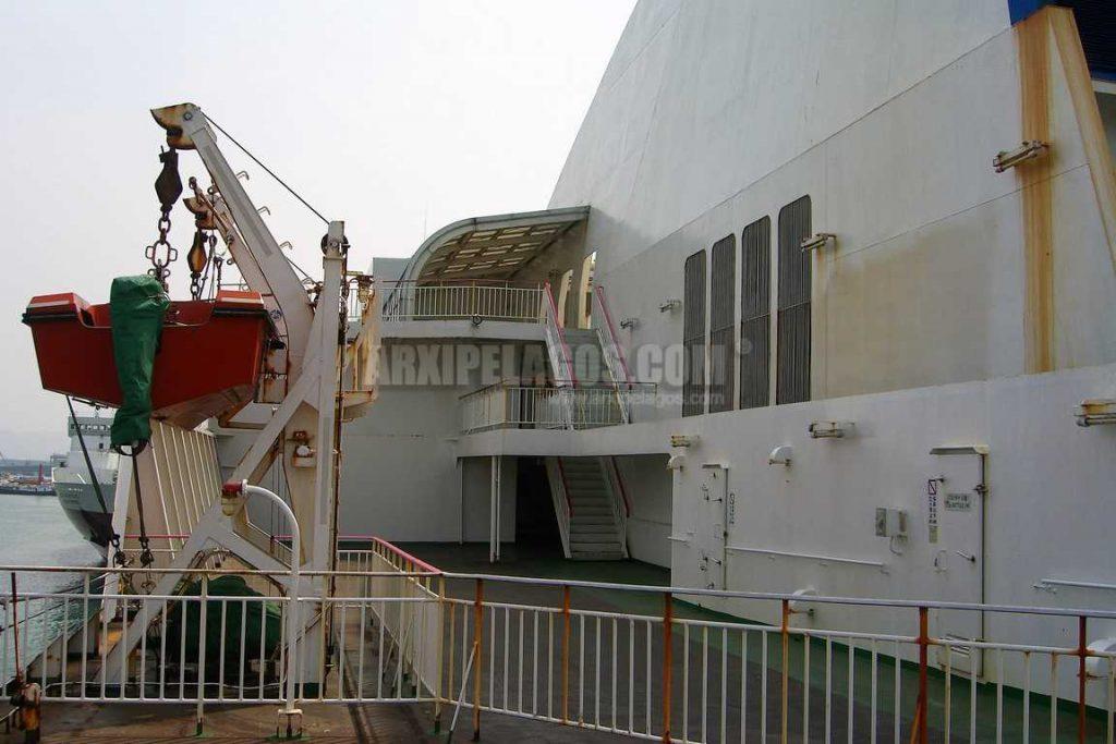 «ΑΡΙΑΔΝΗ» Πλούσιο φωτογραφικό υλικό από την παραλαβή του στην Ιαπωνία τη μετασκευή του στην Ελλάδα 5, Αρχιπέλαγος, Ναυτιλιακή πύλη ενημέρωσης