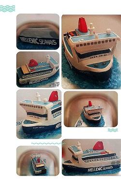 Με μια τούρτα «ΝΗΣΟΣ ΣΑΜΟΣ» μια όμορφη έκπληξη στον Πλοίαρχο του πλοίου 2, Αρχιπέλαγος, Ναυτιλιακή πύλη ενημέρωσης