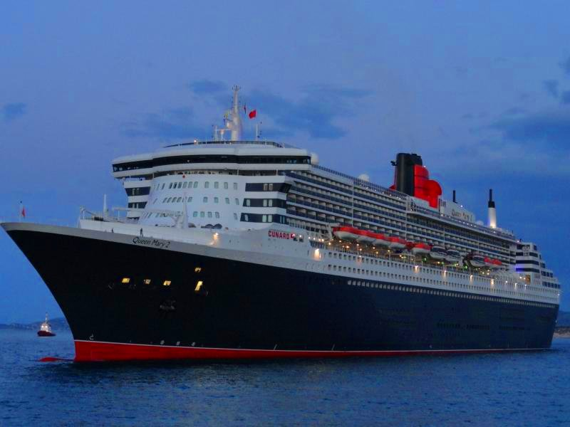 Queen Mary 2 2021