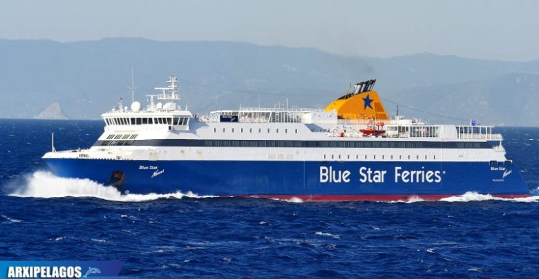 Photo of Από Λαύριο για Καβάλα το Blue Star Naxos
