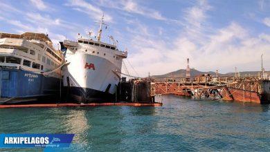 Photo of Σημερινές φωτό από το παροπλισμένο πλοίο Πηνελόπη Α