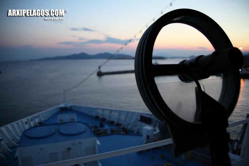 ARIADNE λίγα λεπτά πριν την αναχώρηση 1, Αρχιπέλαγος, Ναυτιλιακή πύλη ενημέρωσης