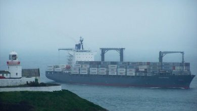Photo of Ακυβέρνητο πλοίο γεμάτο κοντέινερ Βόρεια της Άνδρου