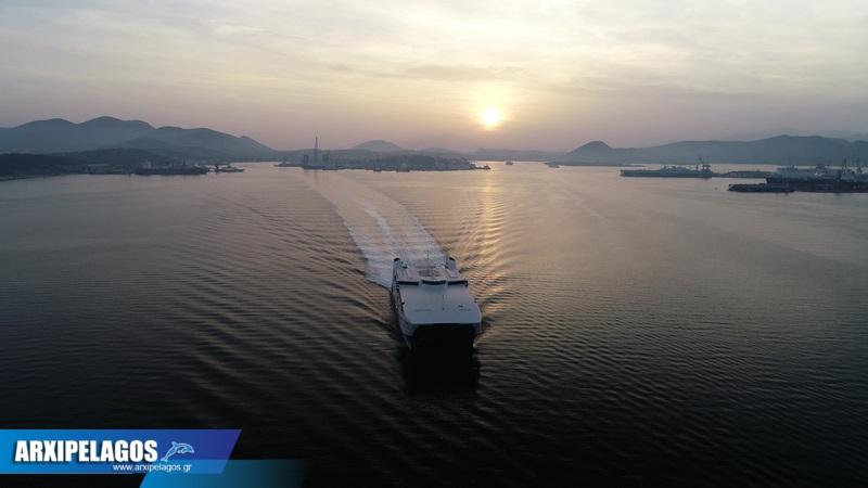 Video από το δοκιμαστικό του Worldchampion Jet 3, Αρχιπέλαγος, Ναυτιλιακή πύλη ενημέρωσης