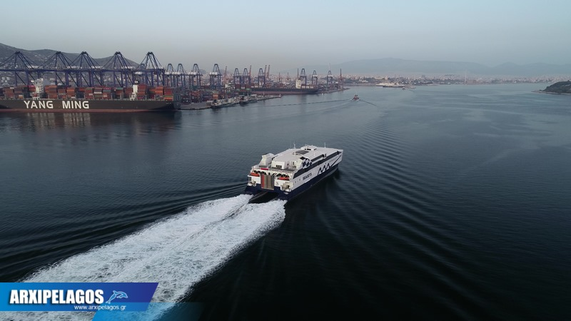Video από το δοκιμαστικό του Worldchampion Jet 4, Αρχιπέλαγος, Ναυτιλιακή πύλη ενημέρωσης