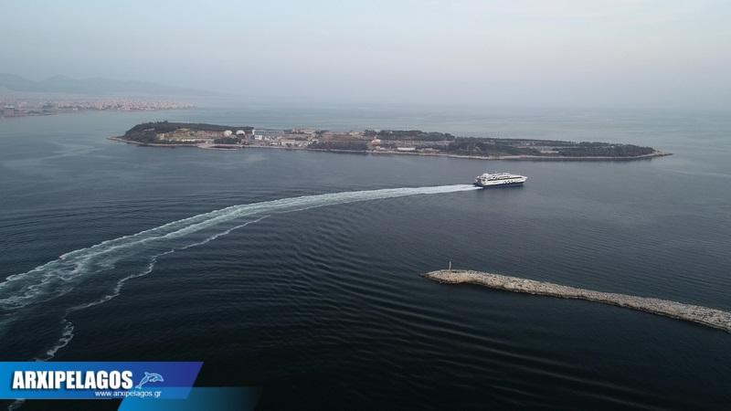 Video από το δοκιμαστικό του Worldchampion Jet 9, Αρχιπέλαγος, Ναυτιλιακή πύλη ενημέρωσης