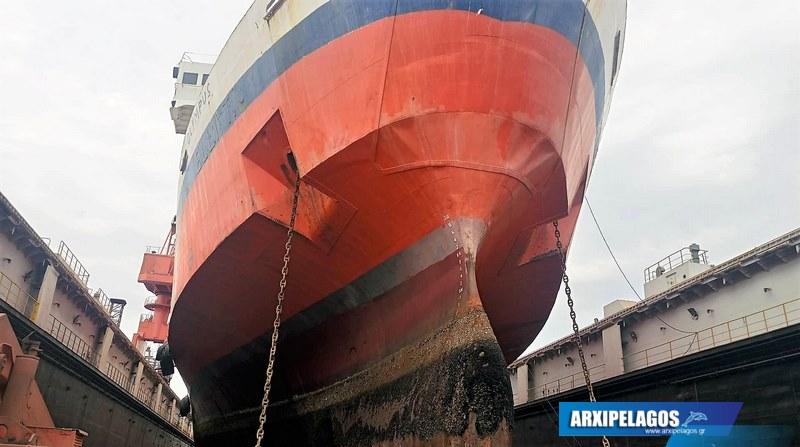 Στη δεξαμενή το πλοίο της γραμμής του Ρεθύμνου 4, Αρχιπέλαγος, Ναυτιλιακή πύλη ενημέρωσης