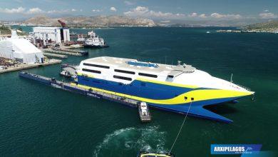 Photo of Για δεξαμενισμό το νέο ταχύπλοο της Golden Star Ferries (Εντυπωσιακό βίντεο)