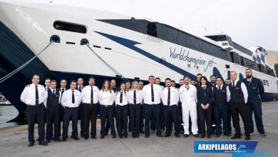 Photo of H Seajets εγκαινιάζει και καλωσορίζει το WorldChampion Jet στο στόλο της