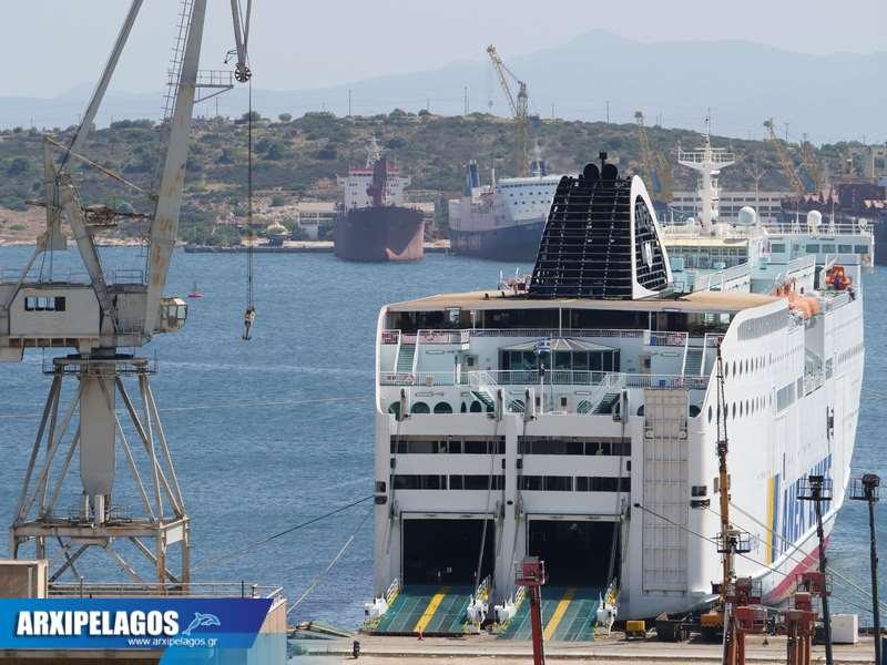 Ετοιμάζεται για τα ξένα ο Έλυρος 2, Αρχιπέλαγος, Ναυτιλιακή πύλη ενημέρωσης