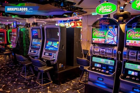 Celebrity Edge Casino, Αρχιπέλαγος, Ναυτιλιακή πύλη ενημέρωσης