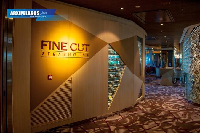 Celebrity Edge Fine Cut Steakhouse, Αρχιπέλαγος, Ναυτιλιακή πύλη ενημέρωσης