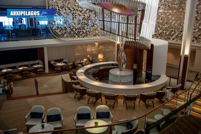 Celebrity Edge Grand Plaza Cafe, Αρχιπέλαγος, Ναυτιλιακή πύλη ενημέρωσης