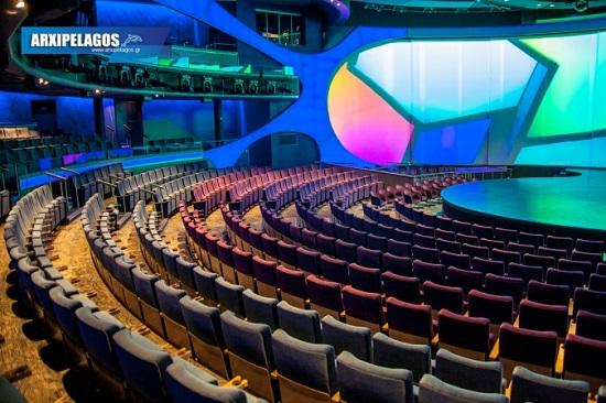 Celebrity Edge Theater, Αρχιπέλαγος, Ναυτιλιακή πύλη ενημέρωσης