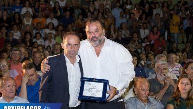 Ο κ. Ηλιόπουλος βραβεύεται για τη συνολική προσφορά του στους πληγέντες στο Μάτι