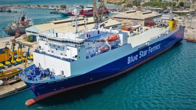 Πότε ξεκινά το νέο πλοίο της Blue Star Ferries