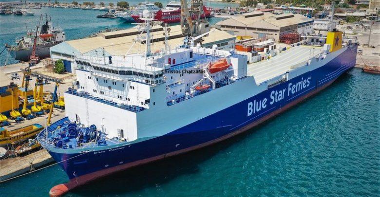 Pote 3ekina To Neo Ploio Ths Blue Star Ferries