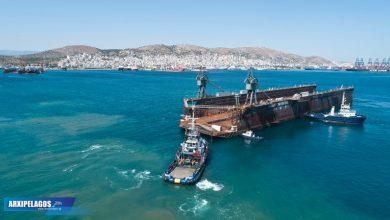 Photo of Στον Όμιλο Σπανόπουλου η μεγάλη πλωτή δεξαμενή Σκαραμαγκά – Drone Video