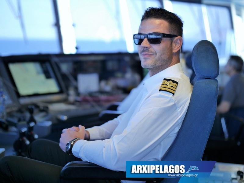 Cpt Γιώργος Βαζούρας Πλοίαρχος στο μεγαλύτερο Ταχύπλοο (Συνέντευξη) (2)