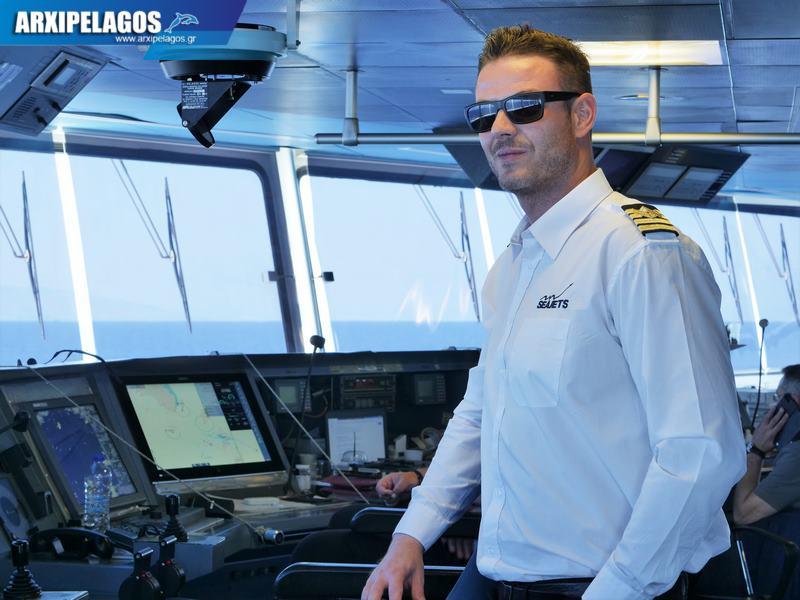 Cpt Γιώργος Βαζούρας Πλοίαρχος στο μεγαλύτερο Ταχύπλοο (Συνέντευξη) (3)