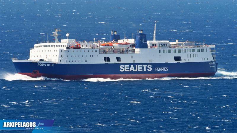 Aqua Blue Το αρχοντοβάπορο της Seajets (2)