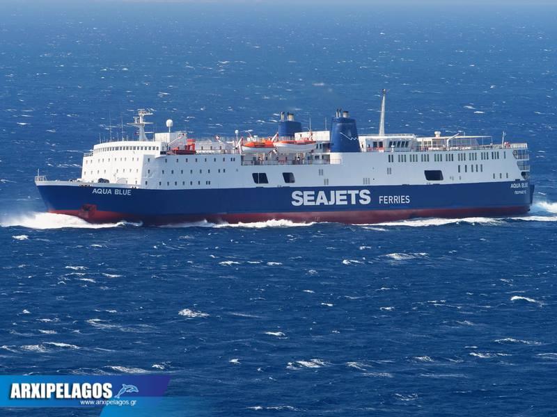 Aqua Blue Το αρχοντοβάπορο της Seajets (3)