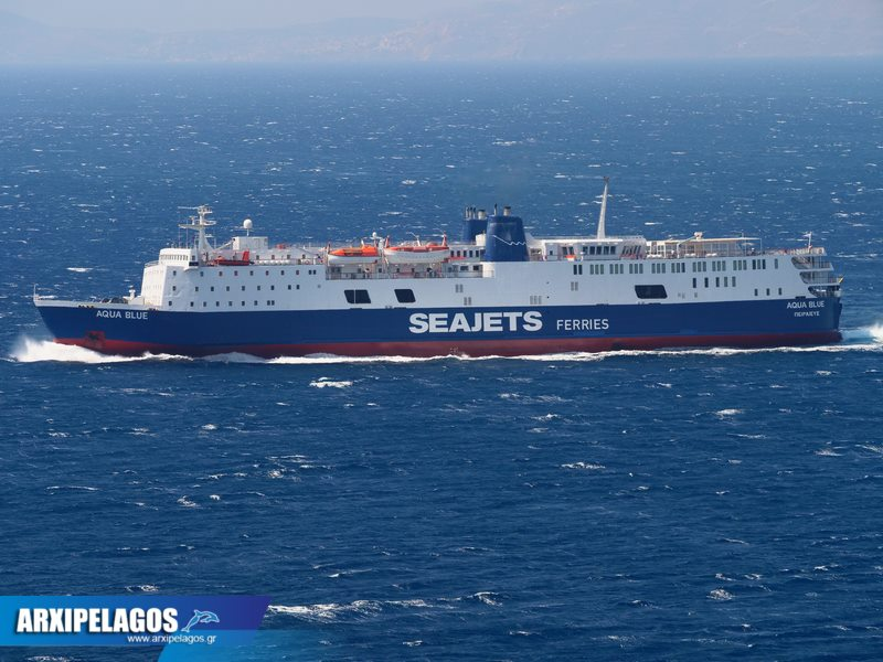 Aqua Blue Το αρχοντοβάπορο της Seajets (5)