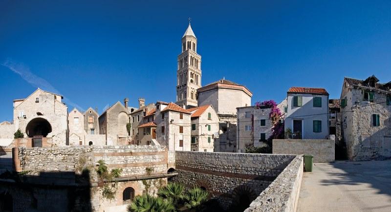 Split, Croatia Diocletian's Palace, Southeastern View
