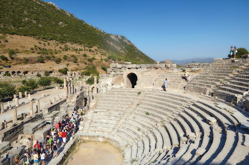 Odeon, Or Bouleuterion, In Ancient Ephesus, Turkey