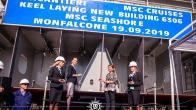 Ξεκίνησε η κατασκευή του Msc Seashore