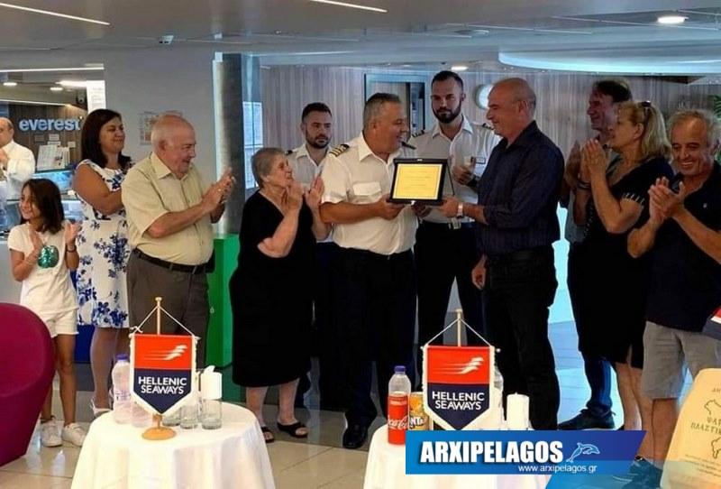 Τα Ψαρά τίμησαν τον εμβληματικό Καπετάνιο του ΒΑ Αιγαίου (2)
