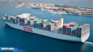 Photo of Ένα ακόμη τεράστιο κοντεϊνεράδικο στον Πειραιά – Video
