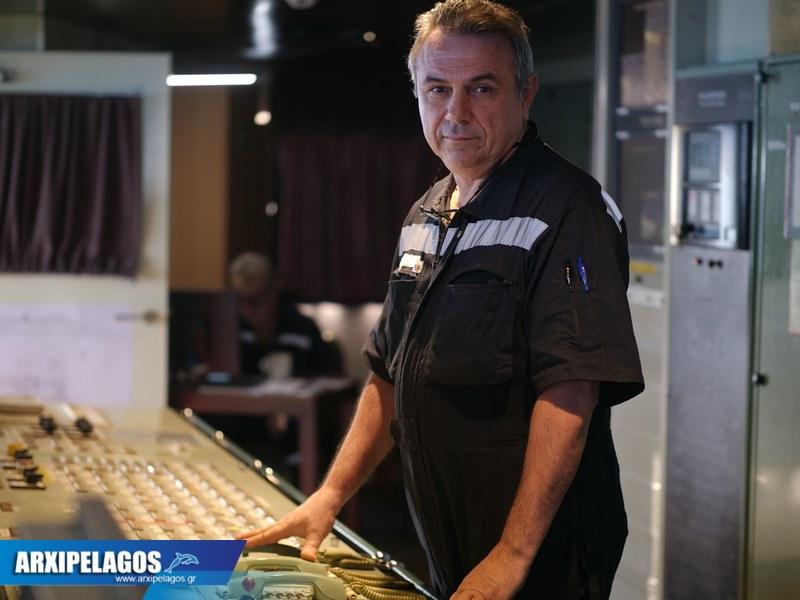 Ιωάννης Καζούρης ΑΒ' Μηχανικός Superferry ( Συνέντευξη ) (5)