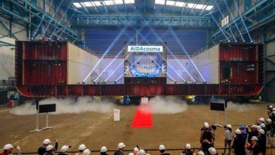 Photo of Ξεκίνησε η κατασκευή της AIDAcosma